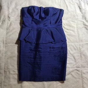 Blue Adrianna Papell Dress Size 12